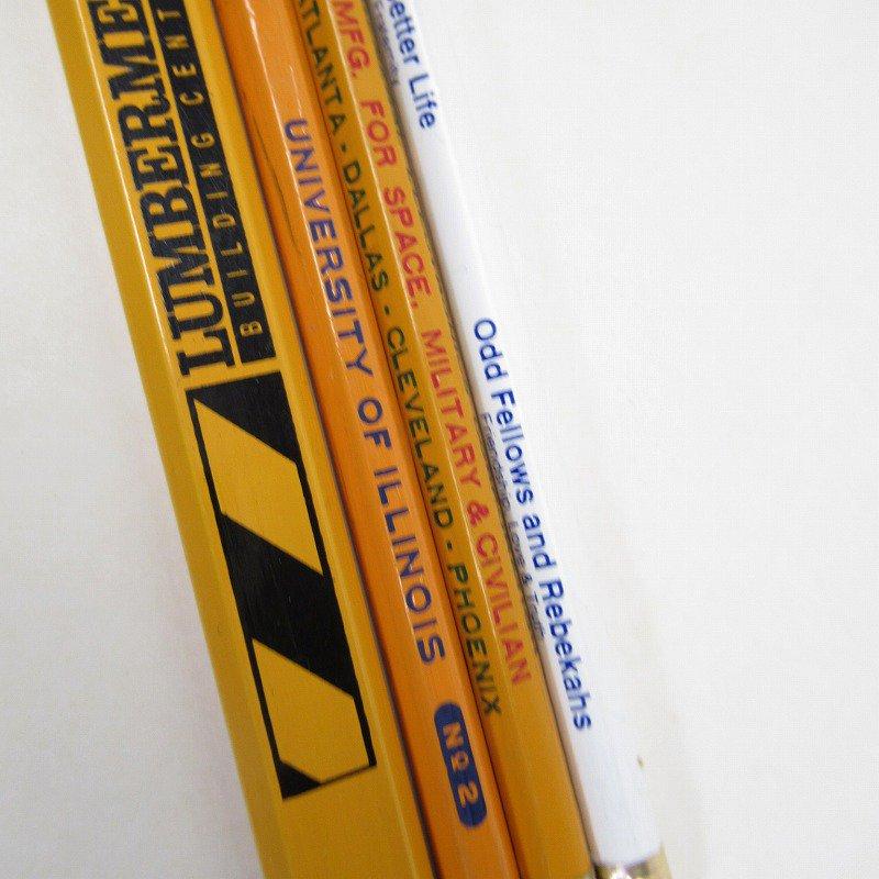 アメリカンヴィンテージ 未使用 鉛筆 販促用 4本セット【画像4】