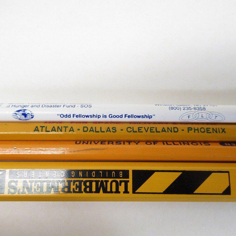アメリカンヴィンテージ 未使用 鉛筆 販促用 4本セット【画像5】