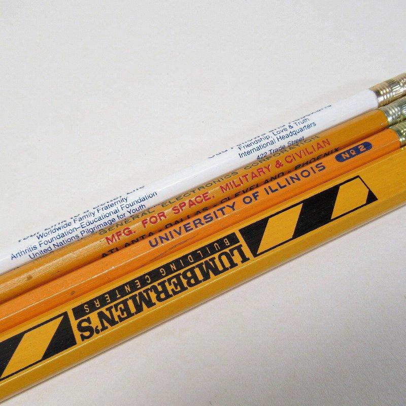 アメリカンヴィンテージ 未使用 鉛筆 販促用 4本セット【画像6】