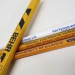 鉛筆・ペン  アメリカンヴィンテージ 未使用 鉛筆 販促用 4本セット