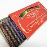 パッケージ&パッケージに味のある雑貨&チーズボックスなど  アメリカンヴィンテージ 1930年 Onward Crayon セット
