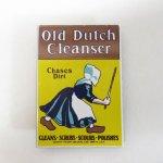 マグネット  ヴィンテージ風 ブリキ製マグネット Old Dutch 洗剤