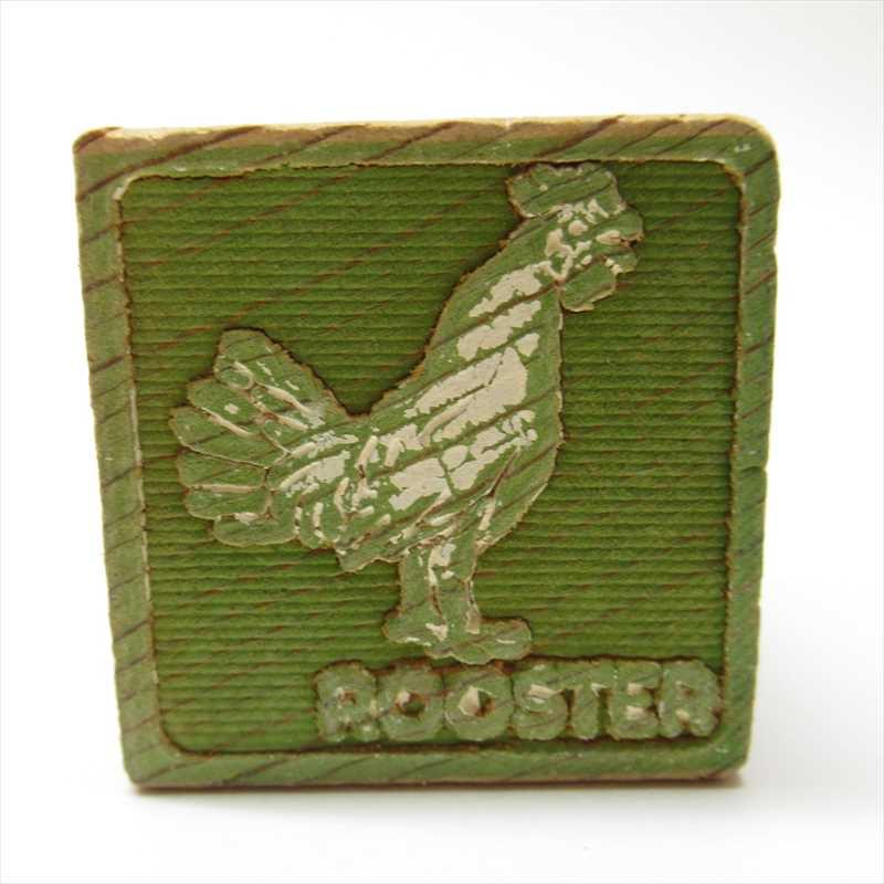 ウッドブロック Rooster B【画像2】