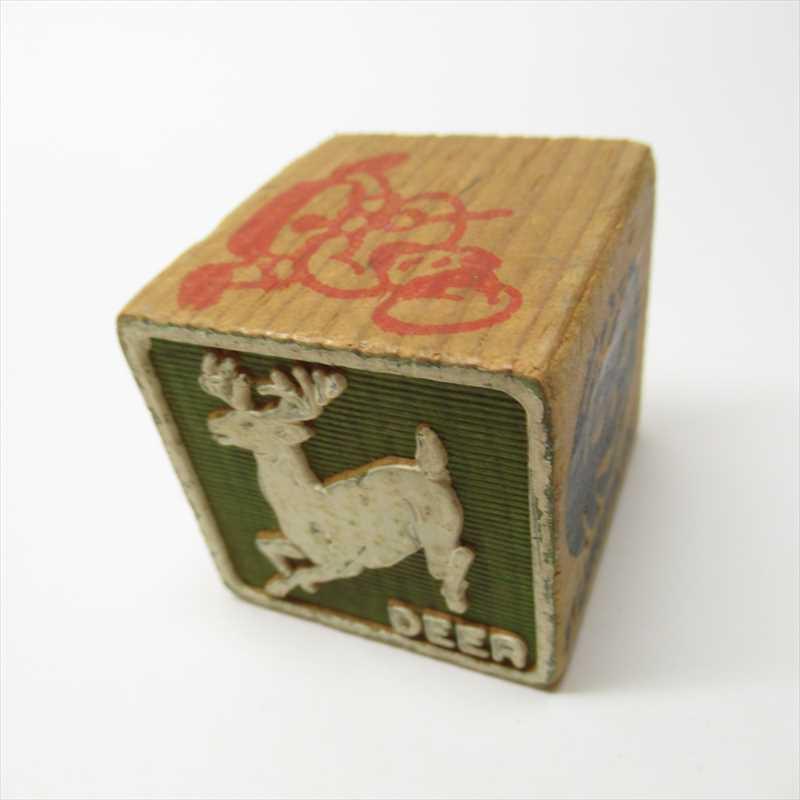 ウッドブロック Deer