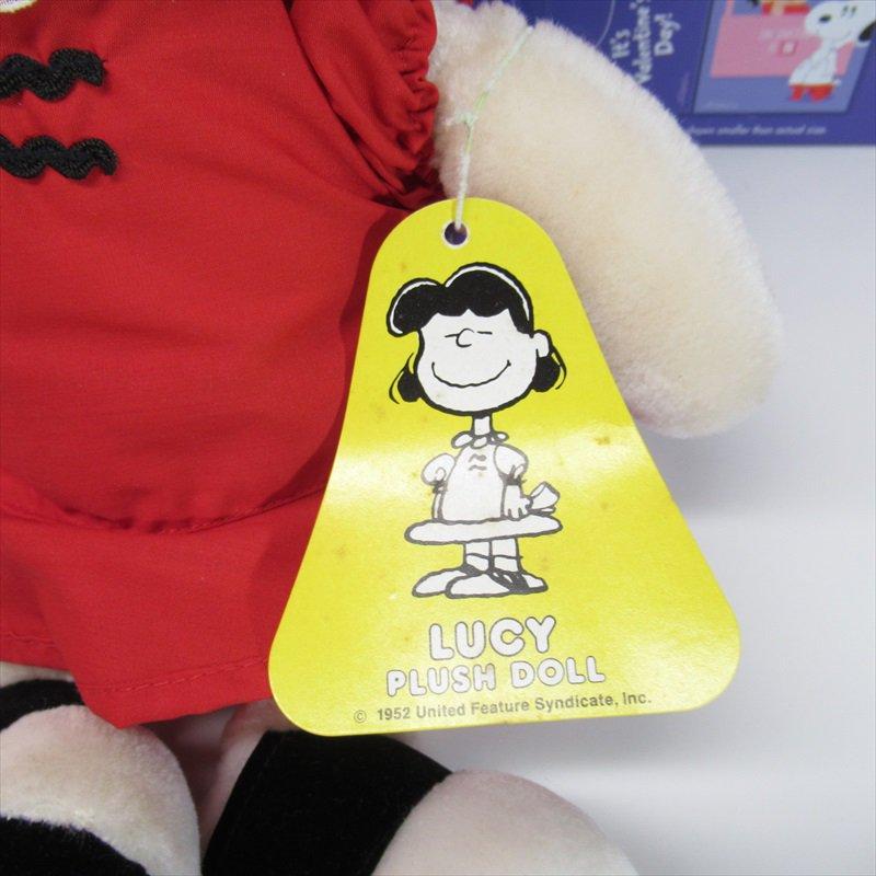 スヌーピー Determined社 1983年 ルーシーぬいぐるみ オリジナル紙タグ付き【画像2】