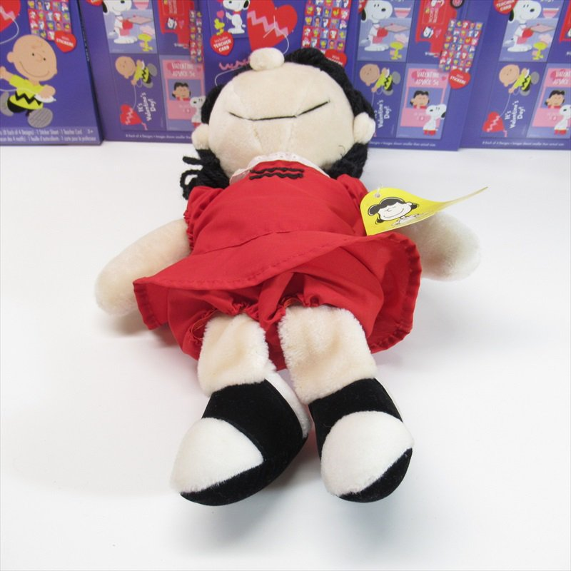 スヌーピー Determined社 1983年 ルーシーぬいぐるみ オリジナル紙タグ付き【画像7】