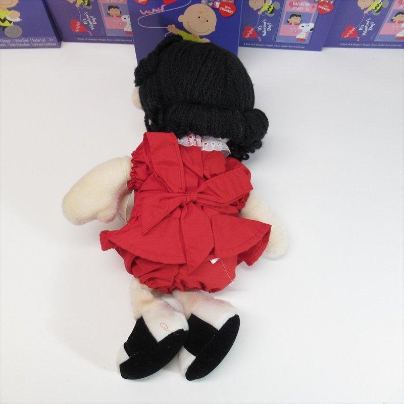 スヌーピー Determined社 1983年 ルーシーぬいぐるみ オリジナル紙タグ付き【画像8】