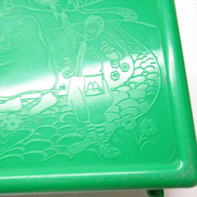 マクドナルド 1988年ランチボックス 緑 シール付 A【画像16】