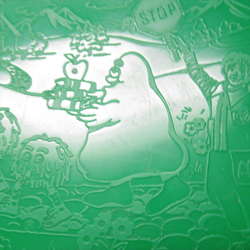 マクドナルド 1988年ランチボックス 緑 シール付 A【画像17】
