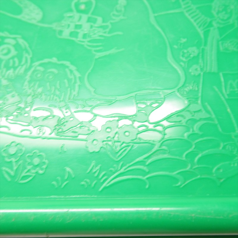 マクドナルド 1988年ランチボックス 緑 シール付 A【画像19】
