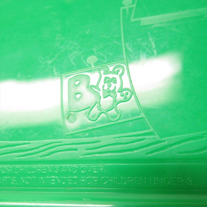 マクドナルド 1988年ランチボックス 緑 シール付 A【画像28】