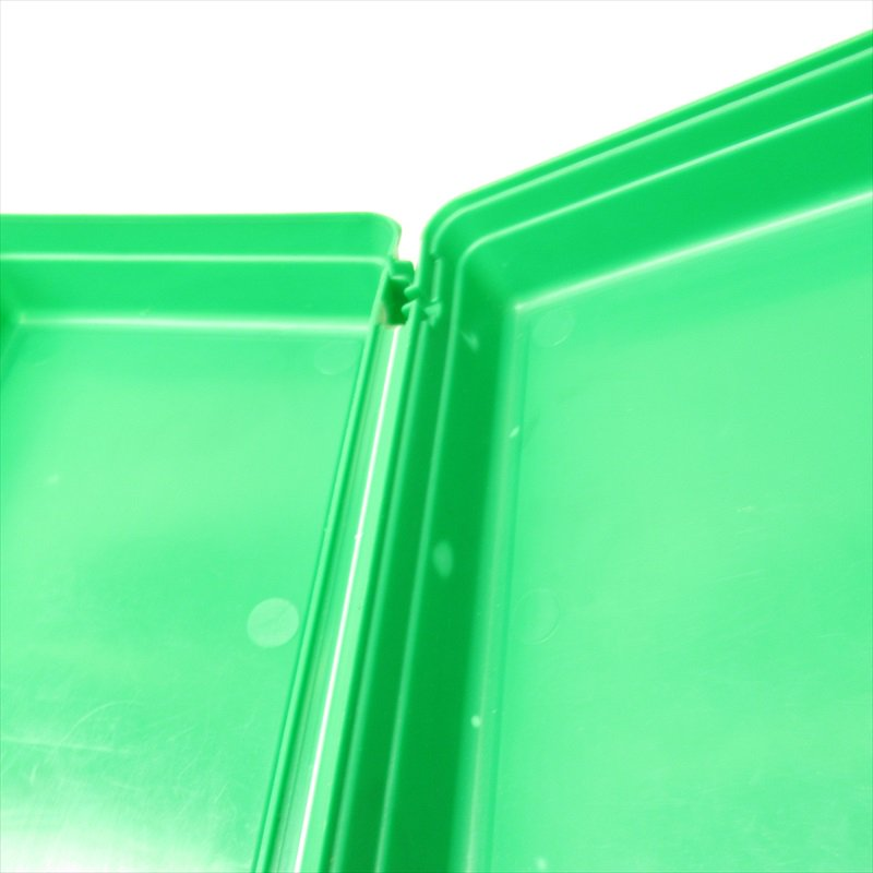 マクドナルド 1988年ランチボックス 緑 シール付 A【画像35】