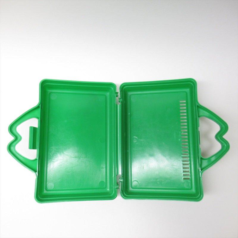 マクドナルド 1988年ランチボックス 緑 シール付 A【画像36】