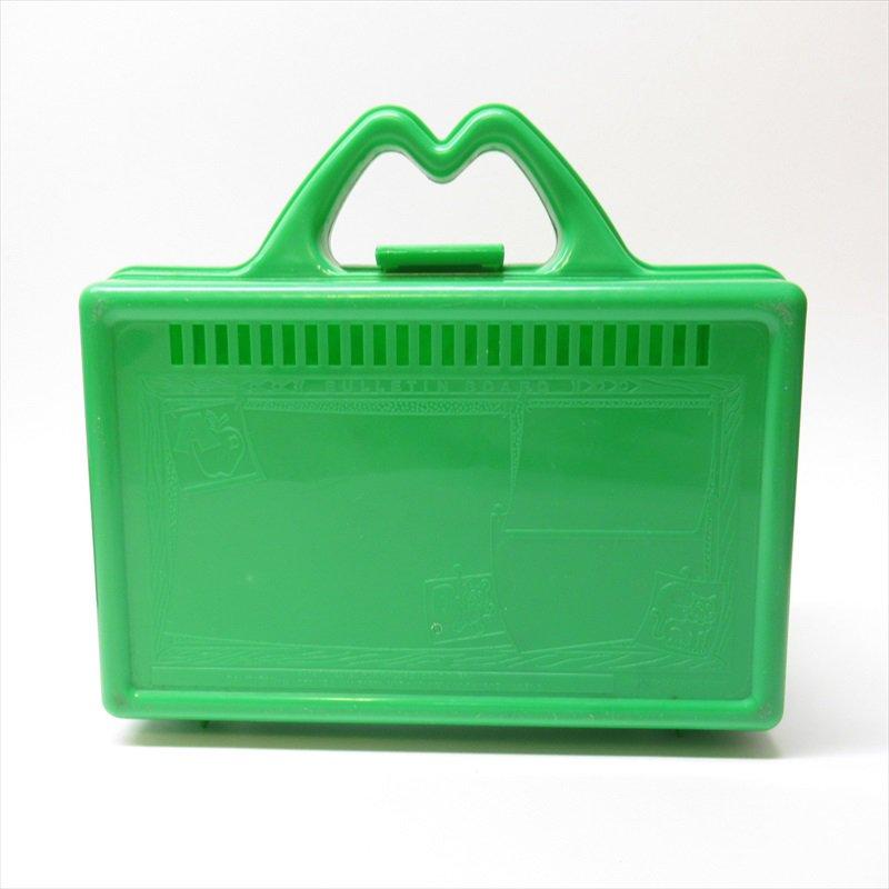 マクドナルド 1988年ランチボックス 緑 シール付 A【画像6】