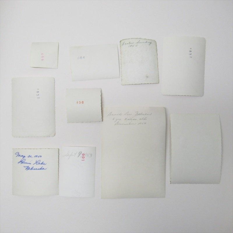 紙モノ ミッドセンチュリー ヴィンテージ キッズ&ベビーフォト 10枚セット T【画像13】