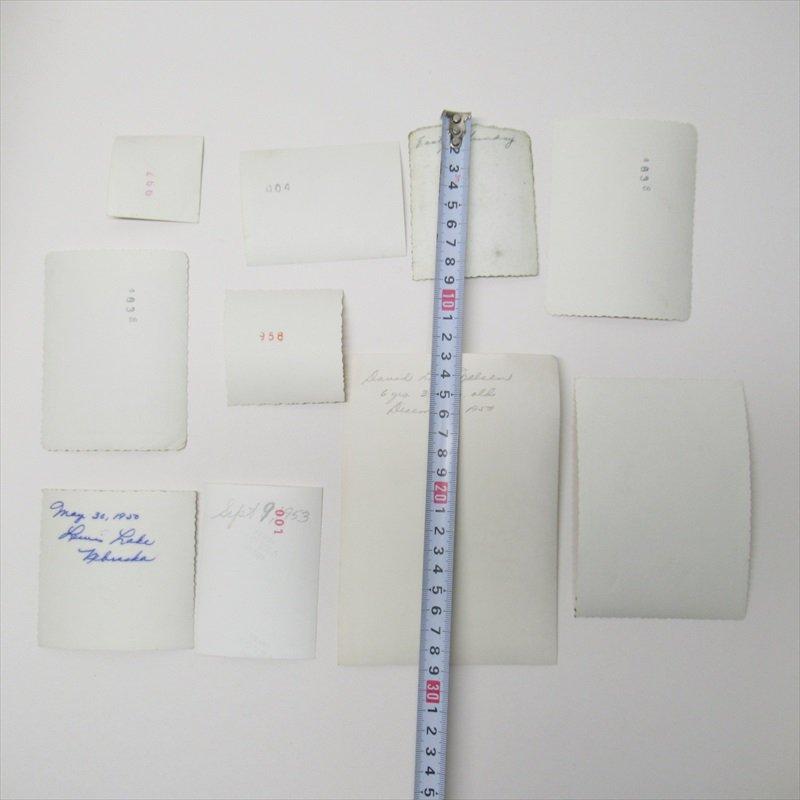 紙モノ ミッドセンチュリー ヴィンテージ キッズ&ベビーフォト 10枚セット T【画像14】