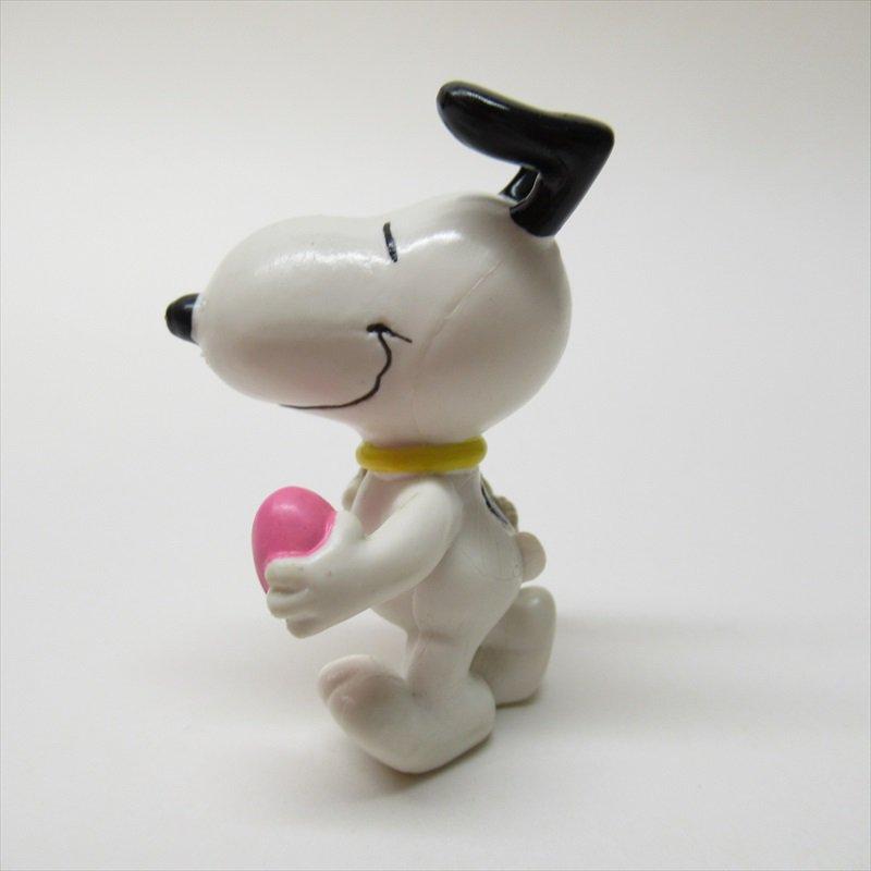 スヌーピー ホイットマン PVC製 イースター ピンクエッグとイースターバスケット フィギュアトイ B【画像3】