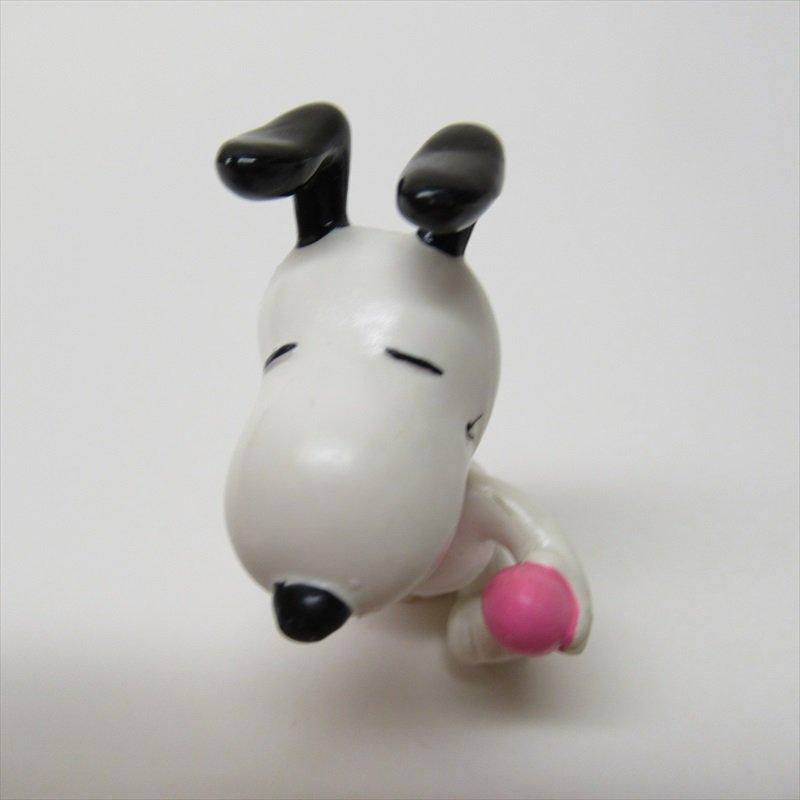 スヌーピー ホイットマン PVC製 イースター ピンクエッグとイースターバスケット フィギュアトイ B【画像5】