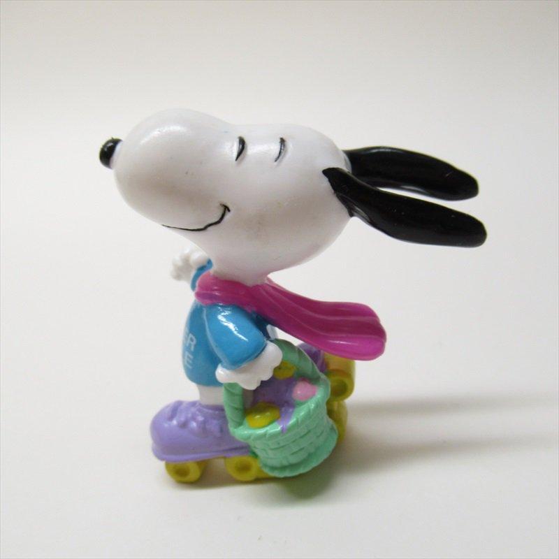 スヌーピー ホイットマン PVC製 イースター Easter Beagle ローラースケート フィギュアトイ C【画像2】