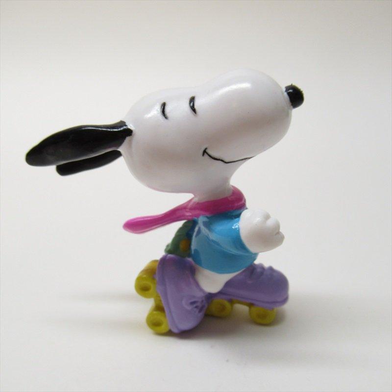 スヌーピー ホイットマン PVC製 イースター Easter Beagle ローラースケート フィギュアトイ C【画像4】