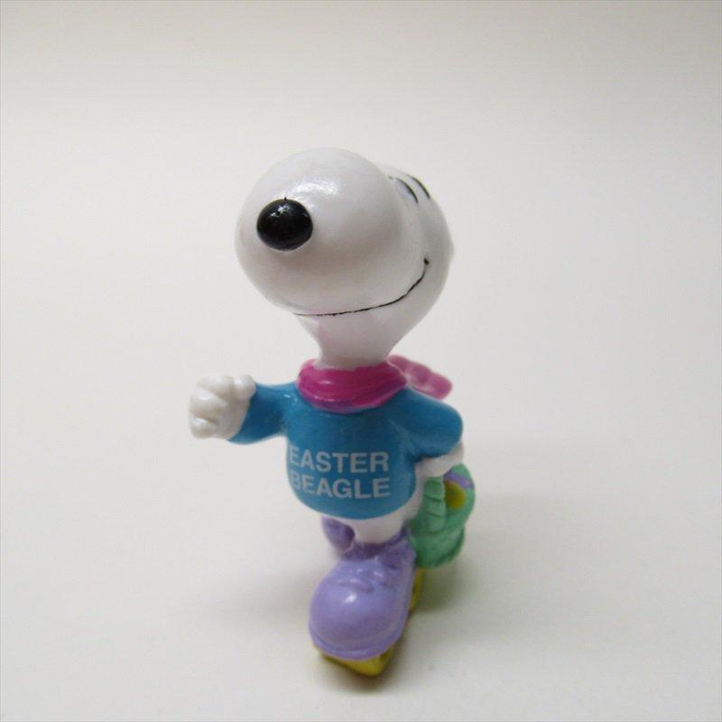 スヌーピー ホイットマン PVC製 イースター Easter Beagle ローラースケート フィギュアトイ C【画像5】