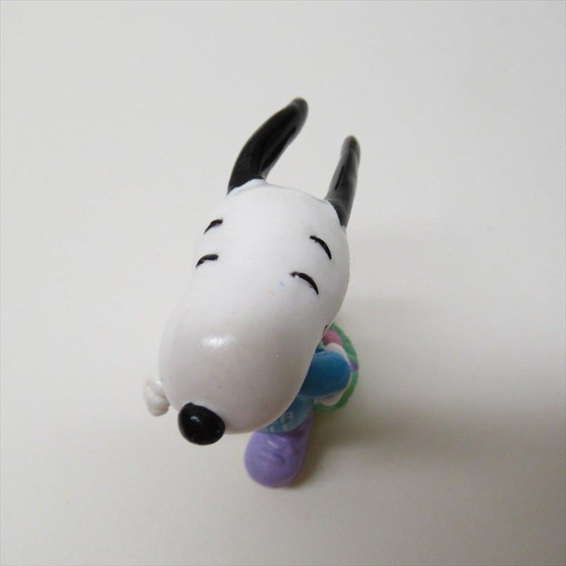 スヌーピー ホイットマン PVC製 イースター Easter Beagle ローラースケート フィギュアトイ C【画像6】