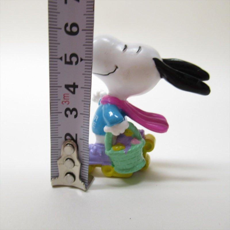 スヌーピー ホイットマン PVC製 イースター Easter Beagle ローラースケート フィギュアトイ C【画像8】