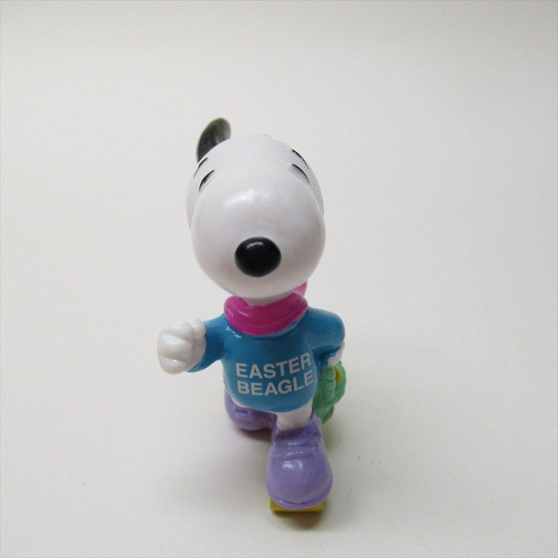 スヌーピー ホイットマン PVC製 イースター Easter Beagle ローラースケート フィギュアトイ D【画像2】
