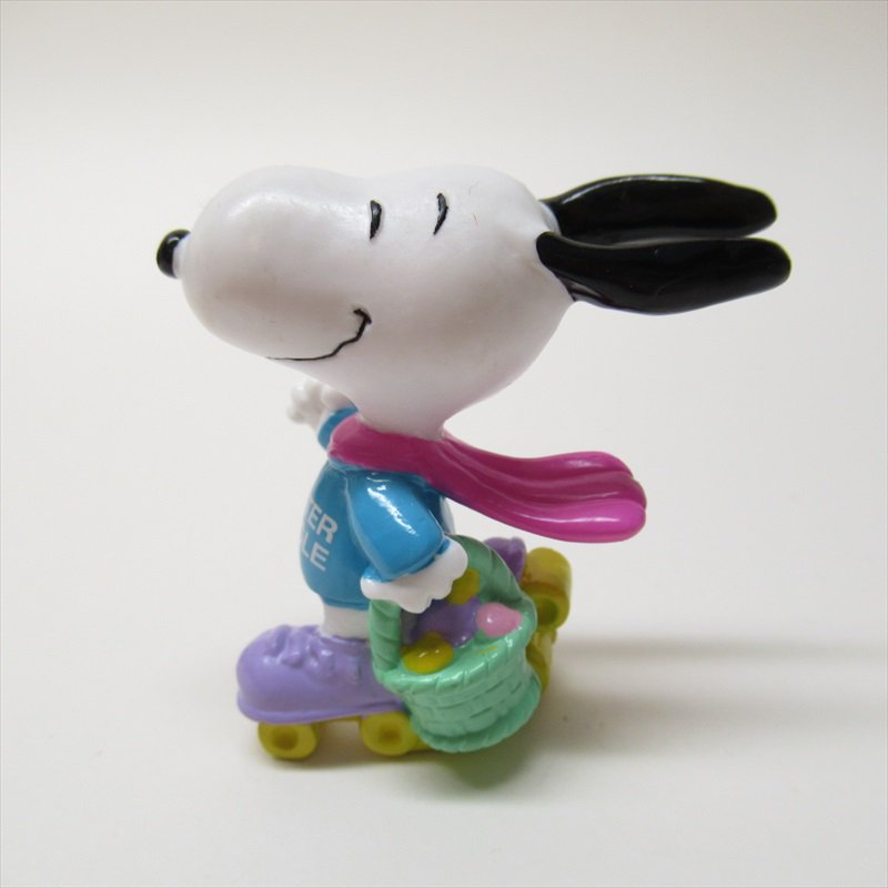スヌーピー ホイットマン PVC製 イースター Easter Beagle ローラースケート フィギュアトイ D【画像3】