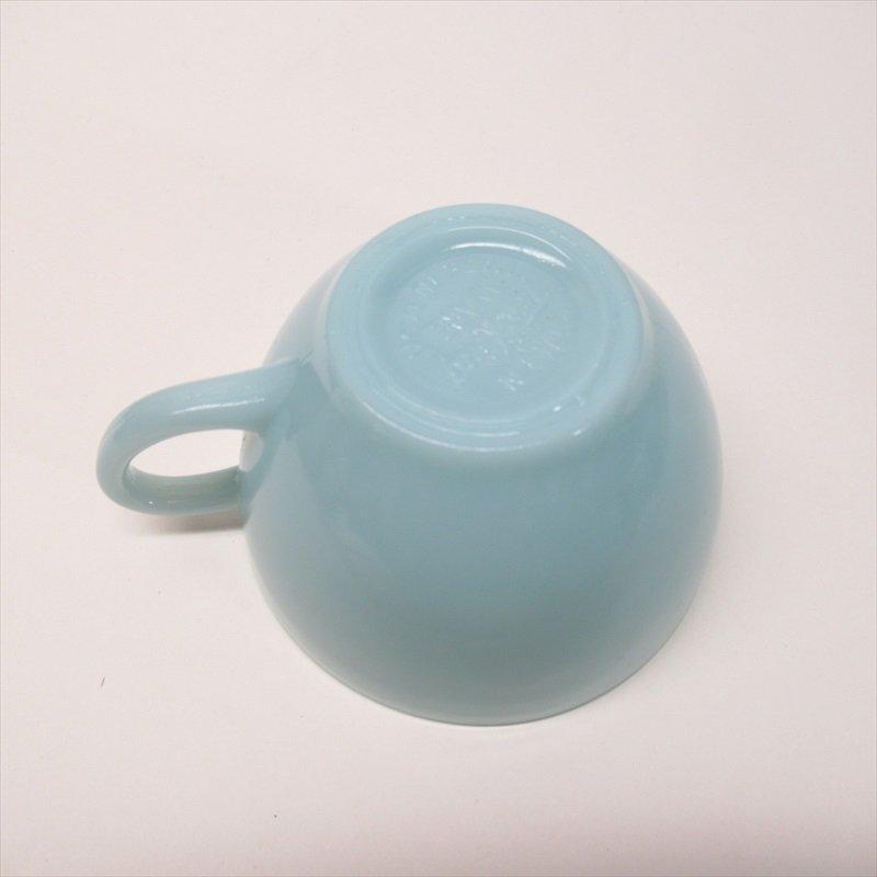 ファイヤーキング ターコイズブルー カップ & ソーサー A【画像28】