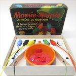パッケージ&パッケージに味のある雑貨&チーズボックスなど  ヴィンテージトイ Mousie Mousie ボックス付きゲーム
