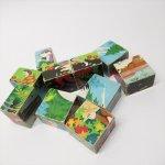 ヴィンテージトイ 木製パズル10個セット アウトレット