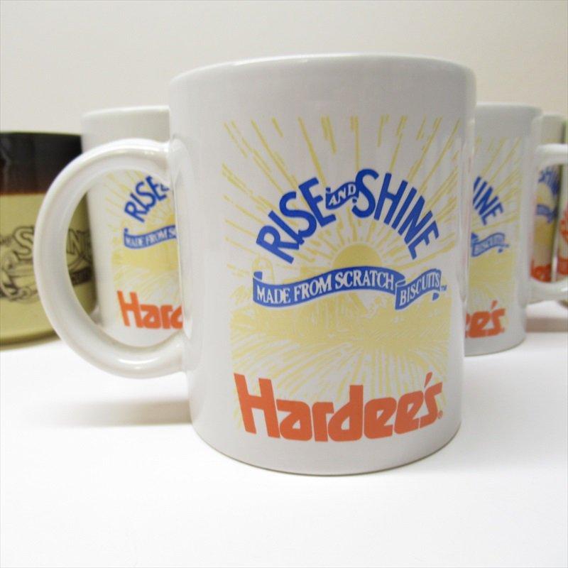 ハーディーズ 1993年 ライズ&シャイン 3色ロゴ ブレックファースト用マグ デッドストック C【画像3】