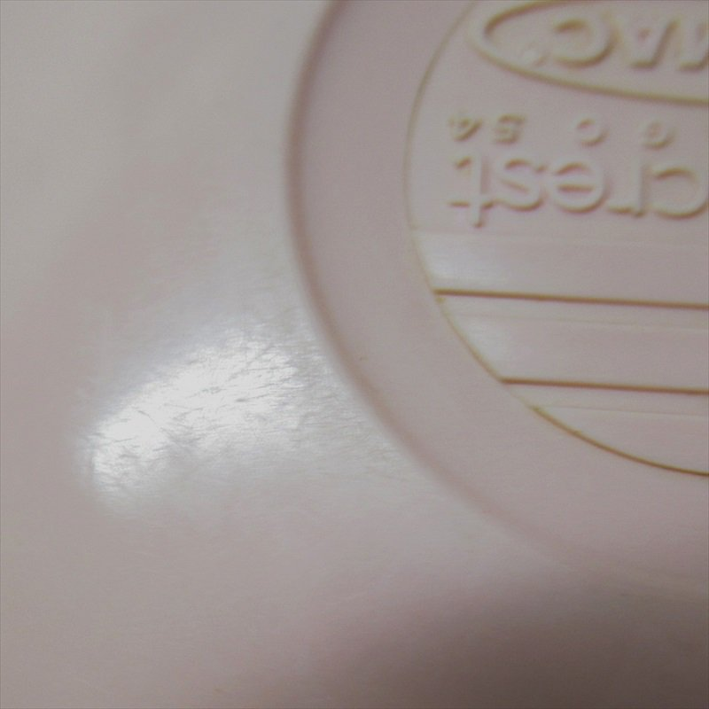 メラミン食器 ミッドセンチュリー Mar-Crest メルマック ピンクサラダボウル 2個セット【画像15】