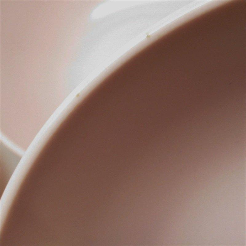 メラミン食器 ミッドセンチュリー Mar-Crest メルマック ピンクサラダボウル 2個セット【画像7】