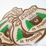 ヴィンテージ雑貨  スモーキーベア オフィシャルグッズ 並行輸入品 Smokey Ranger in Training ステッカー
