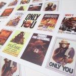 ヴィンテージ雑貨  スモーキーベア オフィシャルグッズ 並行輸入品 ポスターデザイン ステッカー