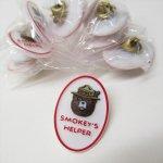 ライオンズクラブなどの非営利団体  スモーキーベア オフィシャルグッズ 並行輸入品 プラスチック製 Smokey's Helper ピンズ