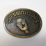 ベルトバックル  ヴィンテージベルトバックル Smith Tool 真鍮製