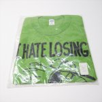 レディス  スヌーピー ヴィンテージTシャツ キッズ用XL サイズ16 緑 デッドストック Norwich I Hate Losing!