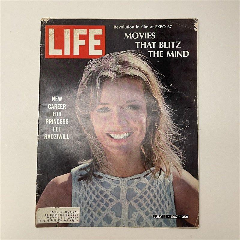 ライフマガジン LIFE誌 1967年7月14日号ワンダーブレッド広告有