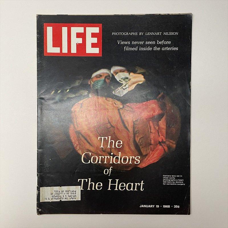 ライフマガジン LIFE誌 1968年1月19日号バドワイザー広告有