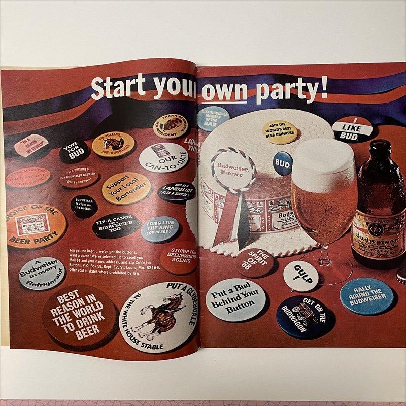 ライフマガジン LIFE誌 1968年1月19日号バドワイザー広告有【画像11】
