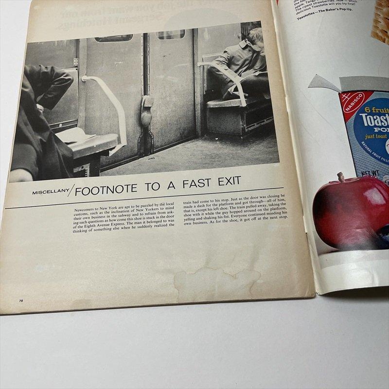 ライフマガジン LIFE誌 1968年1月19日号バドワイザー広告有【画像4】