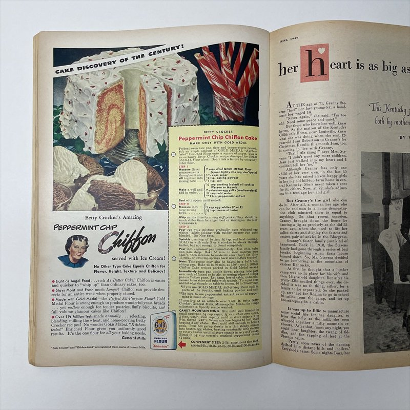 ヴィンテージマガジン ファームジャーナル 1949年6月号 パイレックス広告有【画像15】