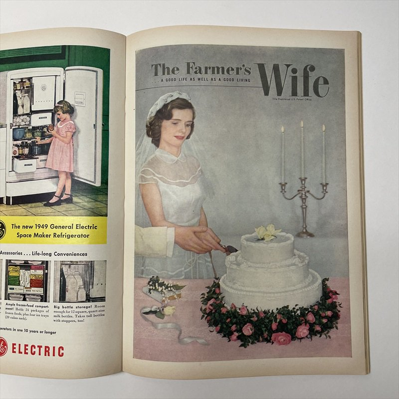 ヴィンテージマガジン ファームジャーナル 1949年6月号 パイレックス広告有【画像16】