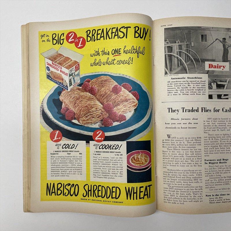 ヴィンテージマガジン ファームジャーナル 1949年6月号 パイレックス広告有【画像17】