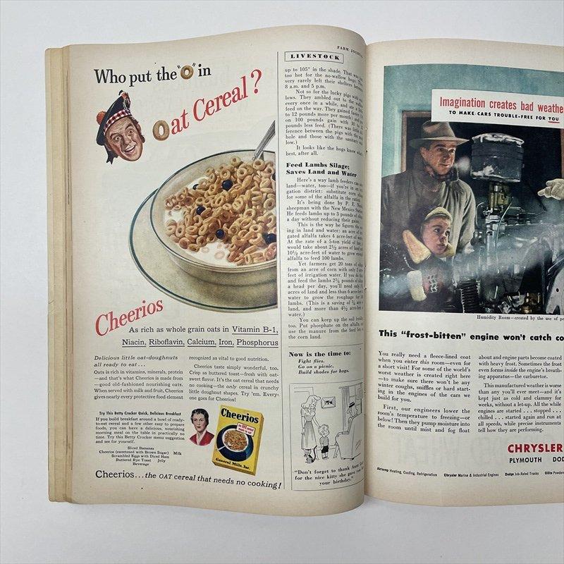ヴィンテージマガジン ファームジャーナル 1949年6月号 パイレックス広告有【画像18】