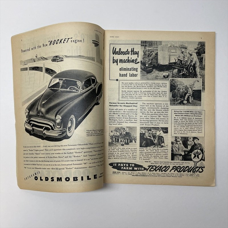 ヴィンテージマガジン ファームジャーナル 1949年6月号 パイレックス広告有【画像21】