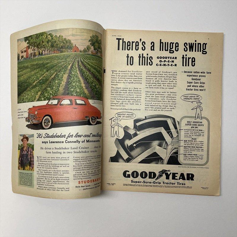 ヴィンテージマガジン ファームジャーナル 1949年6月号 パイレックス広告有【画像22】